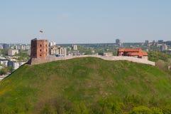 Castello di Vilnius Fotografia Stock Libera da Diritti