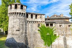 Castello di Visconteo a Locarno, Svizzera Immagine Stock Libera da Diritti