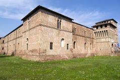 Castello di Visconti, Pandino, Italia immagine stock