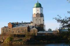 Castello di Vyborg fotografie stock