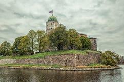 Castello di Vyborg Immagini Stock