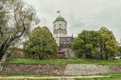 Castello di Vyborg Fotografie Stock Libere da Diritti