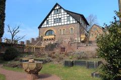 Castello di Wartburg Fotografie Stock Libere da Diritti