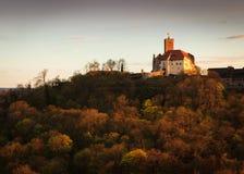 Castello di Wartburg Fotografie Stock