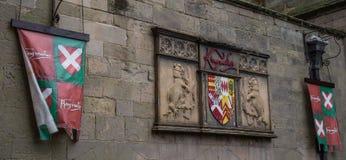 Castello di Warwick Immagine Stock Libera da Diritti
