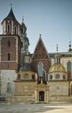 Castello di Wawel Immagini Stock