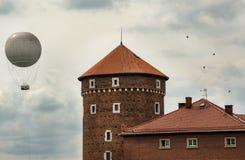 Castello di Wawel - Cracovia, Polonia fotografia stock