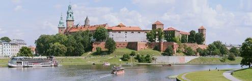 Castello di Wawel, Cracovia, Polonia Fotografie Stock