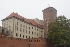 Castello di Wawel, Cracovia, Polonia Fotografia Stock Libera da Diritti