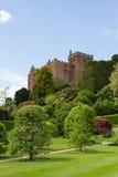 Castello di Welshpool in Powys Fotografie Stock