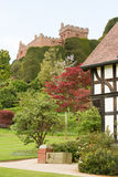 Castello di Welshpool in Powys Fotografia Stock Libera da Diritti
