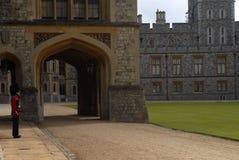 Castello di Windsor - protezione Fotografia Stock