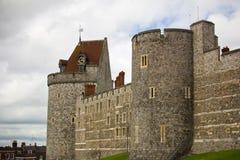 Castello di Windsor, Regno Unito Fotografie Stock Libere da Diritti