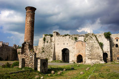 Castello di Yedikule a Costantinopoli Fotografia Stock
