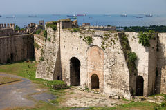 Castello di Yedikule a Costantinopoli Immagini Stock Libere da Diritti