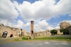 Castello di Yedikule a Costantinopoli Fotografie Stock Libere da Diritti