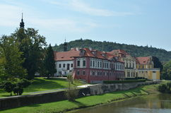 Castello di Zbraslav Immagini Stock