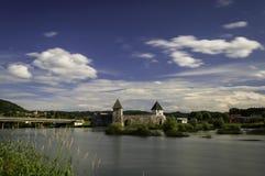 Castello di Zrinski, Croazia Fotografia Stock Libera da Diritti