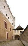 Castello di Zvolen nella città di Zvolen slovakia immagini stock libere da diritti