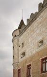 Castello di Zvolen nella città di Zvolen slovakia fotografia stock