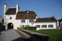 Castello di Zwingen Fotografia Stock