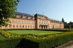 Castello Dobris di Rococ nella repubblica ceca Fotografie Stock Libere da Diritti