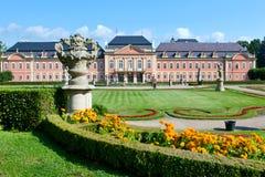 Castello Dobris, regione della Boemia centrale, repubblica Ceca di rococò, Fotografie Stock Libere da Diritti