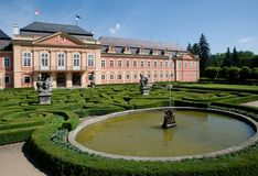 Castello Dobris, repubblica Ceca Fotografia Stock Libera da Diritti