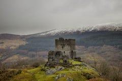 castello dolwyddelan Galles del nord, Regno Unito Immagini Stock