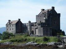 Castello donan di Eilean in Scozia Immagine Stock Libera da Diritti
