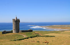 Castello in Doolin, Irlanda Fotografia Stock
