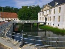 Castello Dornum dell'acqua Fotografie Stock Libere da Diritti