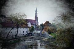Castello ducale di Straubing Fotografia Stock Libera da Diritti