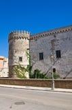 Castello ducale di Torremaggiore La Puglia L'Italia Fotografia Stock