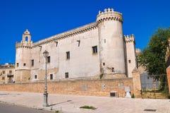 Castello ducale di Torremaggiore La Puglia L'Italia Immagine Stock