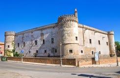 Castello ducale di Torremaggiore La Puglia L'Italia Immagine Stock Libera da Diritti