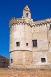 Castello ducale di Torremaggiore La Puglia L'Italia Immagini Stock Libere da Diritti