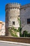 Castello ducale di Torremaggiore La Puglia L'Italia Fotografie Stock Libere da Diritti