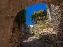 Castello in Dulcigno Fotografia Stock Libera da Diritti