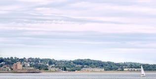 Castello Dundee di Broughty Immagine Stock