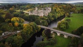 Castello e giardini di Lismore Contea Waterford l'irlanda fotografia stock libera da diritti