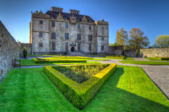 Castello e giardini di Portumna Fotografie Stock Libere da Diritti
