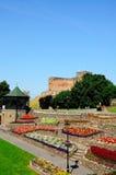 Castello e giardini di Tamworth Fotografia Stock Libera da Diritti
