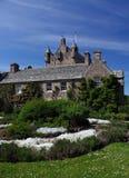 Castello e giardino di Cowdar Fotografie Stock Libere da Diritti