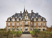 Castello e parco di Namur Vallonia belgium fotografia stock libera da diritti