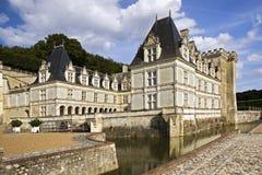 Castello e sosta di Valencay fotografie stock