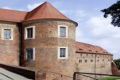 Castello Eisenhardt cattivo Belzig - in Germania fotografia stock libera da diritti