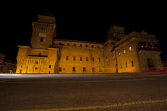 Castello Estense castle in Ferrara, Italy Royalty Free Stock Photos