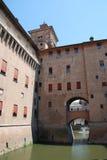 Castello Estense, Ferrara Stock Images