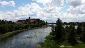 Castello in Europa Fotografia Stock